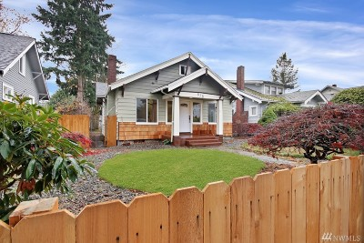 Tacoma Single Family Home For Sale: 818 S Trafton St