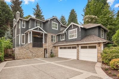 Bellevue Single Family Home For Sale: 10039 NE 31st Place