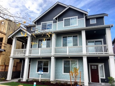 Seattle Single Family Home For Sale: 6523 31st Ave SW #Lot X
