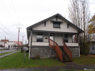 Chehalis Single Family Home For Sale: 294 James St