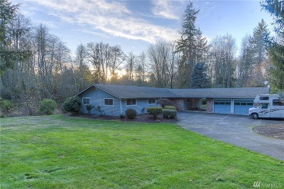 Thurston County Single Family Home For Sale: 1941 Draham Rd NE