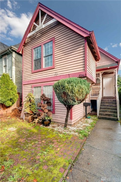 Seattle Single Family Home For Sale: 824 20th Ave