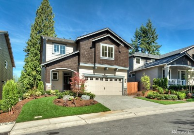 Woodinville Single Family Home For Sale: 12408 NE 153rd Place #141