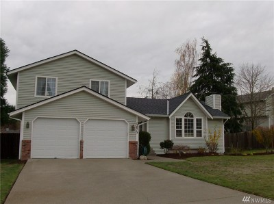 Pierce County Single Family Home For Sale: 12015 142nd St Ct E