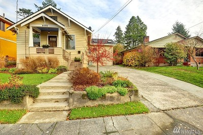 Seattle Single Family Home For Sale: 9332 54th Ave S