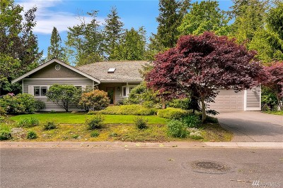 Blaine Single Family Home Sold: 8823 Goshawk Rd