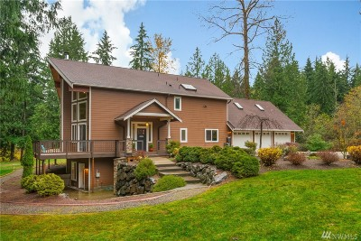 Snohomish Single Family Home For Sale: 15717 242nd St SE