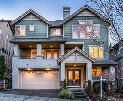 Issaquah Single Family Home For Sale: 781 Lingering Pine Dr NW