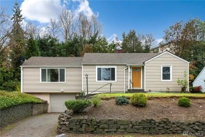 Renton Single Family Home For Sale: 478 Grandey Wy NE