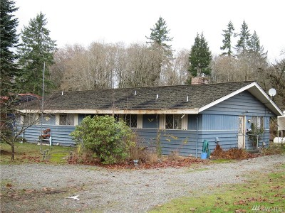 Mason County Single Family Home Pending Inspection: 310 NE State Route 300