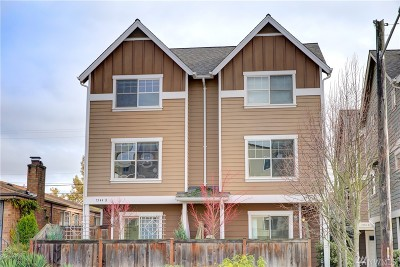 Seattle Single Family Home For Sale: 7544 24th Ave NW #B