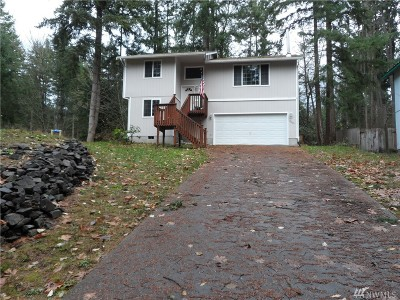 Yelm WA Single Family Home For Sale: $189,000