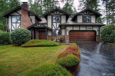 University Place Single Family Home For Sale: 3729 72nd Av Ct W