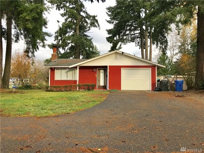 Tacoma Single Family Home For Sale: 9021 S D St