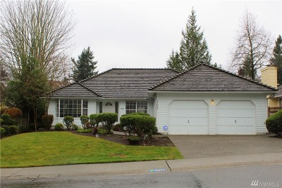 Renton Single Family Home Contingent: 15009 SE 181st St