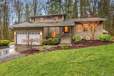 Sammamish Single Family Home For Sale: 24417 SE 17th Place