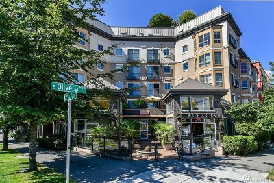 Seattle Condo/Townhouse For Sale: 1125 E Olive St #509