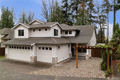 Kirkland Single Family Home For Sale: 6205 116th Ave NE