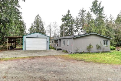 Stanwood Single Family Home For Sale: 7517 Happy Hollow Rd