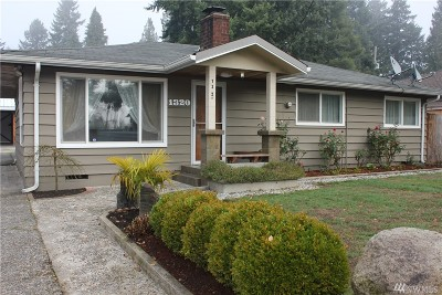Burien Single Family Home For Sale: 1320 S 131st Place