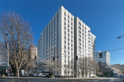 Seattle Condo/Townhouse For Sale: 1105 Spring St #506