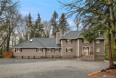Issaquah Single Family Home For Sale: 24010 SE 168th St