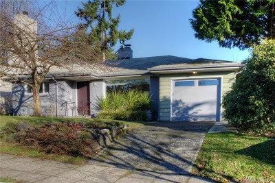 Seattle Single Family Home For Sale: 6740 26th Ave NW