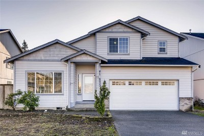 Spanaway Single Family Home For Sale: 8022 207th St E