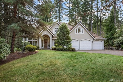 Gig Harbor Single Family Home For Sale: 12705 Tanager Dr NW