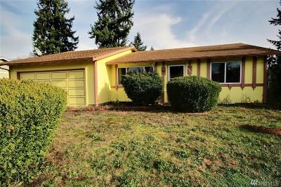 Tacoma Single Family Home For Sale: 15413 11th Av Ct E