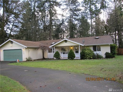 Gig Harbor Single Family Home For Sale: 3624 53rd St NW