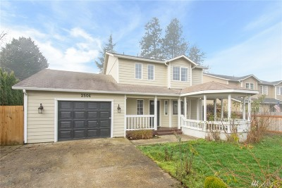 Thurston County Single Family Home For Sale: 2506 Fire Ct SE