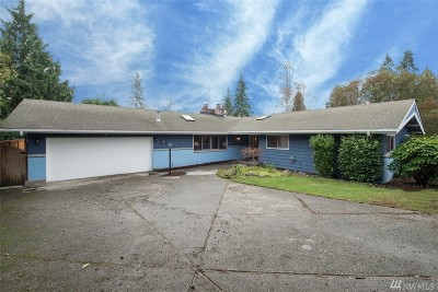 Bellevue Single Family Home For Sale: 12405 SE 26th Place