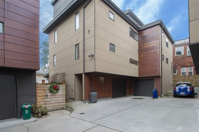 Seattle Single Family Home For Sale: 165 16th Ave #A