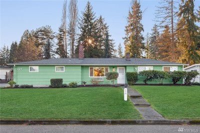 Bellevue Single Family Home For Sale: 3905 154th Ave SE