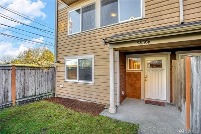 Seattle Single Family Home For Sale: 9436 35th Ave SW #B
