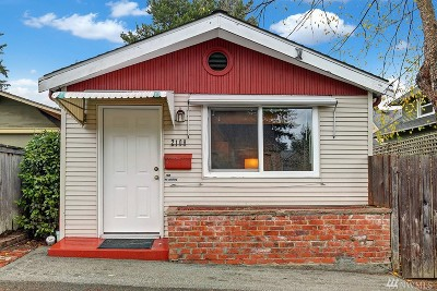 Seattle Single Family Home For Sale: 2108 NW 73rd St