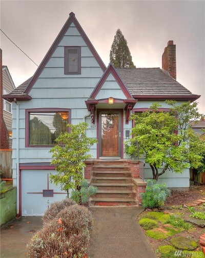 Seattle Single Family Home For Sale: 1609 NE 75th St