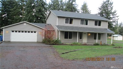 Thurston County Single Family Home For Sale: 12036 Bald Hill Rd SE