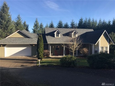 Chehalis Single Family Home For Sale: 187 Scenic Ridge Dr