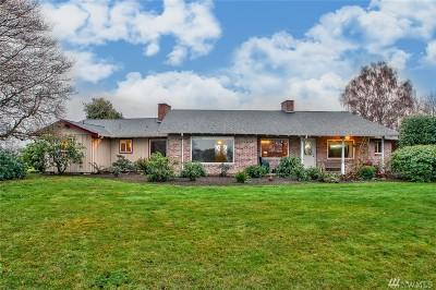 Skagit County Single Family Home Pending Inspection: 16796 Dunbar Rd