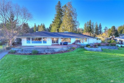 Gig Harbor Single Family Home For Sale: 3807 Wollochet Dr NW