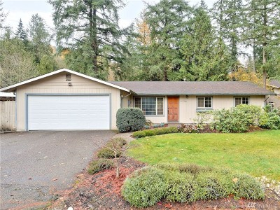 Issaquah Single Family Home For Sale: 11736 188th Ave. SE
