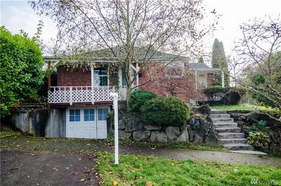 Seattle Single Family Home For Sale: 5600 37 Ave SW