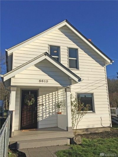 Single Family Home For Sale: 5615 S Fife St