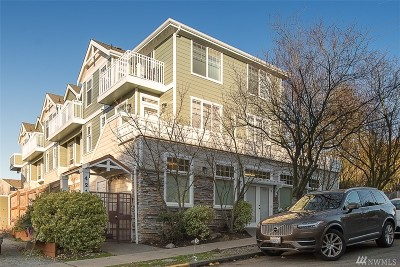 Seattle Condo/Townhouse For Sale: 4216 SW Findlay St #1