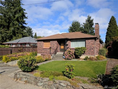 Tacoma Single Family Home For Sale: 4205 N 12th