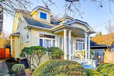 Seattle Single Family Home For Sale: 3009 61st Ave SW