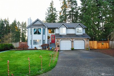 Bonney Lake Single Family Home For Sale: 22412 121st St E