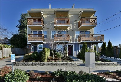 Seattle Single Family Home For Sale: 9218 16th Ave SW #A